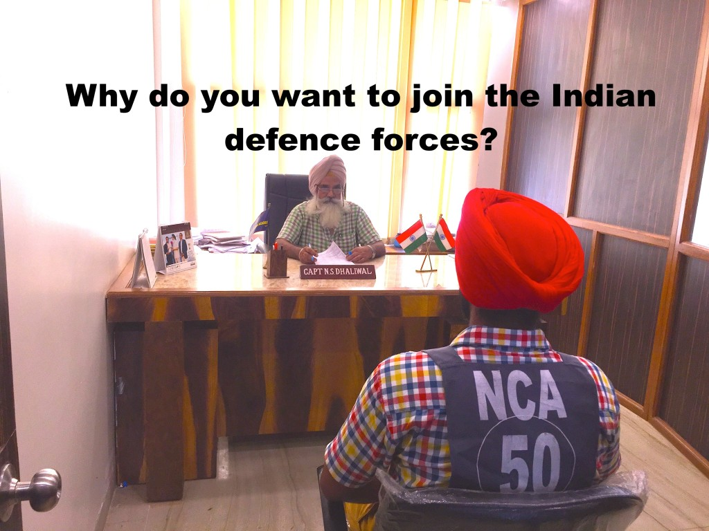 Why do you want to join the Indian defence forces?