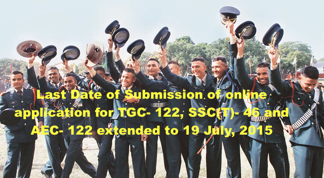 122 ND  TECHNICAL GRADUATE COURSE (TGC-122) (JAN 2016) AND 46 TH  SHORT SERVICE COMMISSION (TECHNICAL) COURSE
