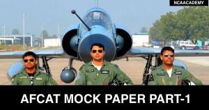 AFCAT Mock PAper -1